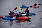 Cub kayaking event - Testwood Lakes